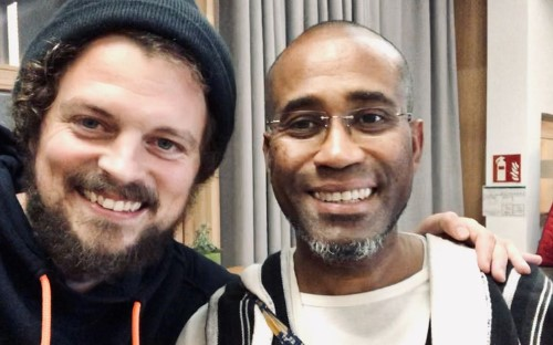 Amadou Touré und Oliver Berger